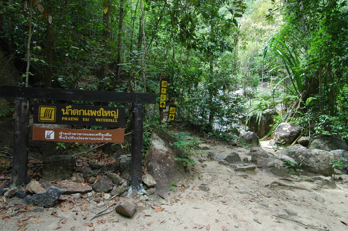 Koh Phangan Phaeng Waterfall