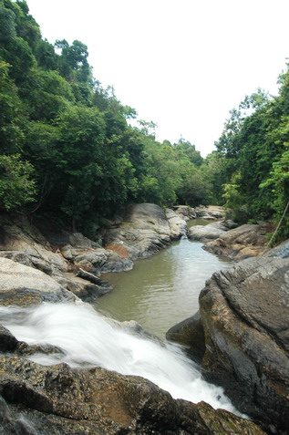 Koh Phangan Thansadet Waterfall