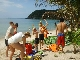Mae Haad Beach - The number one beach for snoreklling at the north west coast of Koh Phangan Island